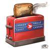 Today's cartoon: Canada Toast